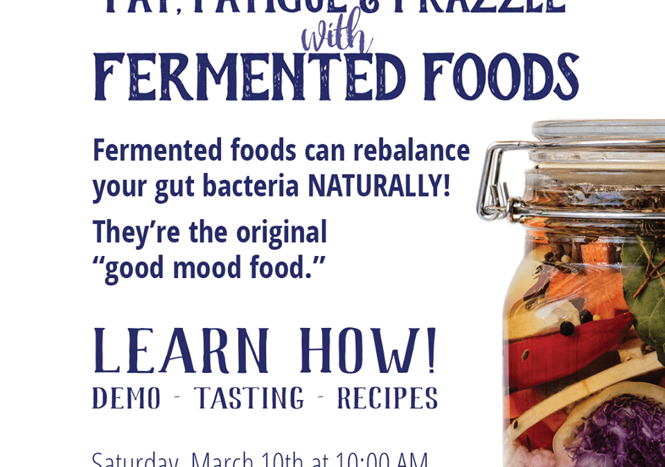 How to Ferment for Better Health- a Gut Health Healing Demonstration